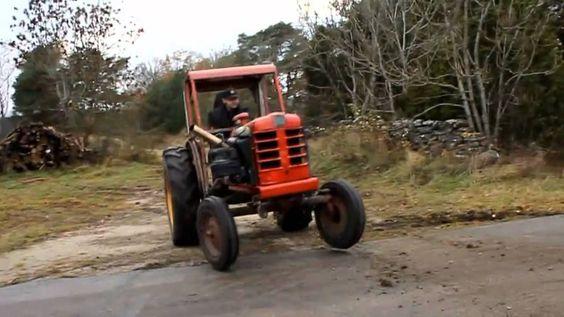 Tracteur de course au moteur surpuissant - iSheep.fr