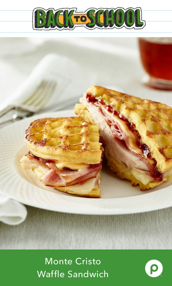 Originally from France, the Monte Cristo Waffle Sandwich is one of the tastiest ways to enjoy ham and cheese. Adding raspberry jam and waffles gives this Publix Aprons recipe a classic restaurant taste you can prepare in your morning bathrobe.