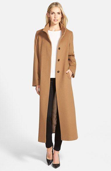 Fleurette Long Wool Coat (Regular &amp Petite)   Nordstrom   Fashion