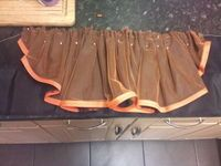 How to make a tiered skirt. Bustle Skirt - Step 7
