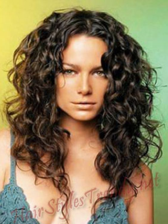 Surprising Curling Long Curly Hair And Curls On Pinterest Short Hairstyles Gunalazisus