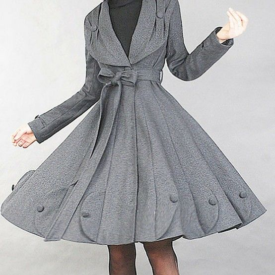 feminine coats in | Super feminine coat | Interest Box | Haute