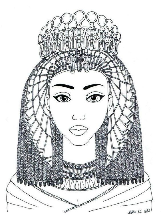 coloriage egypte | Coloriages divers | Pinterest