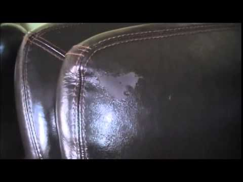 how to stop bonded leather from peeling
