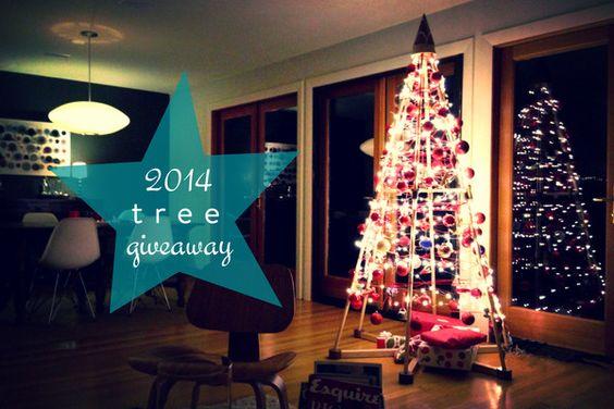 2014 TREE GIVEAWAY – The Jubiltree Company, LLC  | Modern Wood Christmas Trees