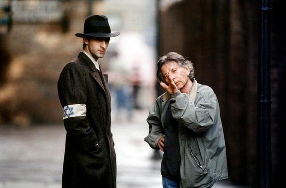Adrien Brody and Roman Polanski