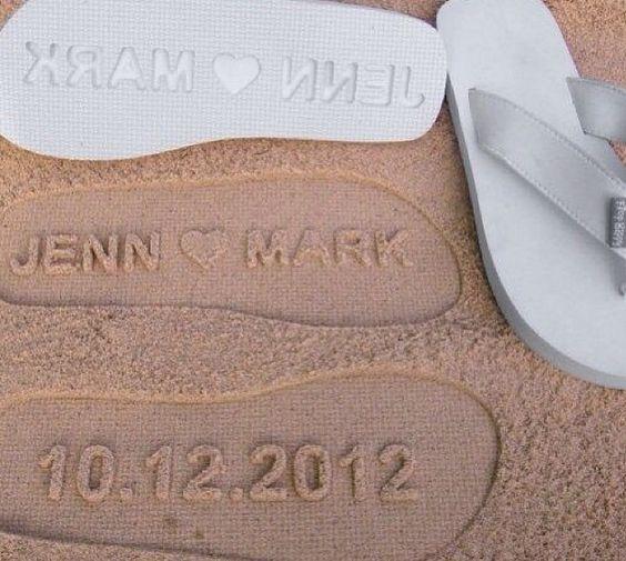 Wedding, beach wedding, casamento na praia, lemvrança, havaianas, gift, love