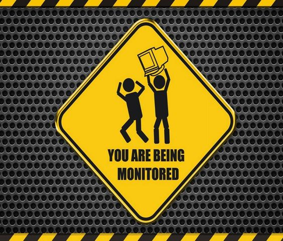 Download You Are Being Monitored HD Wallpaper And