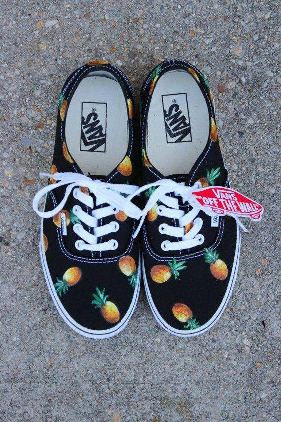 Vans + pineapples: