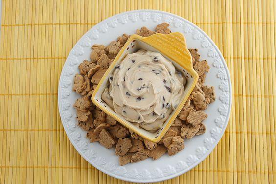 chocolate chip cookie dough dip...yum!