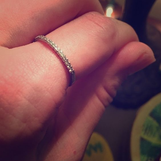 Zales Diamond ring  Excellent condition. Possibly still have original box too! Sparkly and tasteful. Make a reasonable offer! Diamonds are a girls best friend! Zales Jewelry Rings