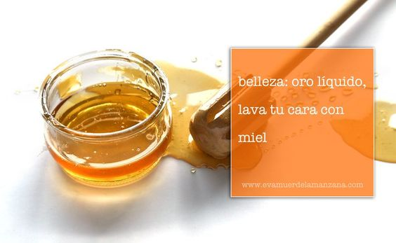 Belleza: oro líquido, lava tu cara con miel