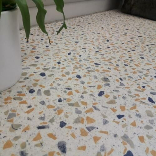 Details About Terrazzo Cushioned Sheet Vinyl Flooring