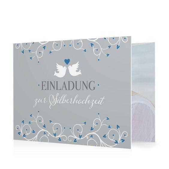 Hochzeitseinladung Taubenherz in Koenigsblau - Doppelklappkarte flach gewickelt #Hochzeit #Hochzeitskarten #Einladung #elegant #Foto #kreativ #modern https://www.goldbek.de/hochzeit/hochzeitskarten/einladung/hochzeitseinladung-taubenherz?color=koenigsblau&design=46473&utm_campaign=autoproducts