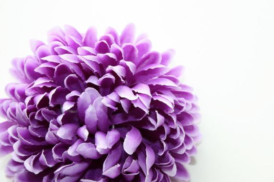 Purple with Light Purple Tips Mum Ball 3.5 inches by simplyserra, $3.00