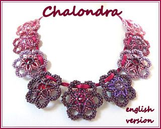bead pattern: Chalondra #necklace #pedant