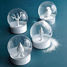 I need some snow globes to decorate with. My kids love them!