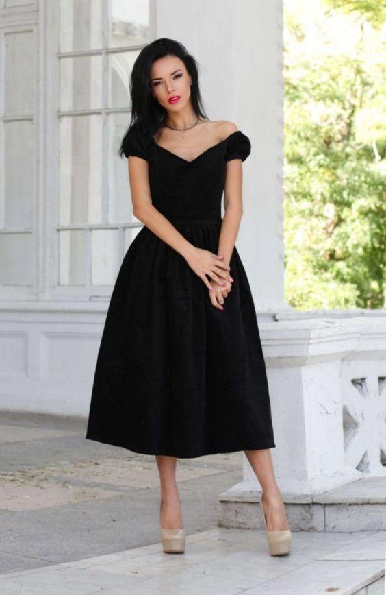 Правильное черное платье для дам 20+, 30+, 40+, 50+: самые удачные модели | bomba.co