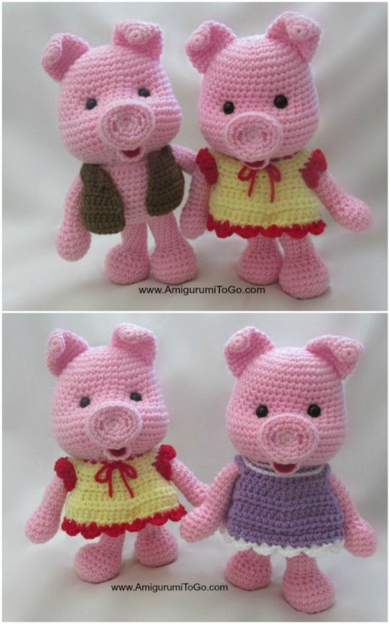PATTERN BUNDLE: Crochet Kitty Cat Patterns! Amigurumi Kitty ... | 879x550
