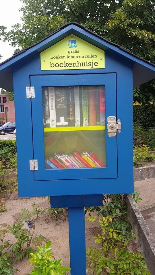 Boekenhuisje Wechelderzande