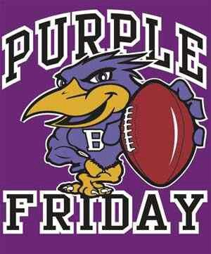 It's Purple Friday ...GO RAVENS