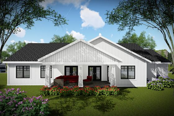 Craftsman Style House Plan 3 Beds 2 Baths 1921 Sq Ft Plan 70 1479 Craftsman Style House Plans Ranch House Plans Farmhouse Style House Plans