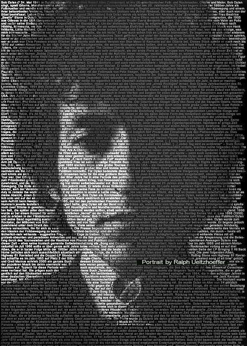 Text portraits by Ralph Ueltzhoeffer