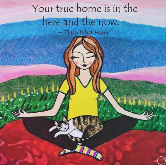 Your true home is in the here and now.. - Thich Nhat Hanh. PhotoArt: Lori Portka. @thichnhathanhquotecollective #thaysaid #thichnhathanhquotecollective #thichnhathanh #buddhistquotes