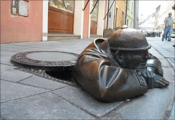 Man At Work Bratislava, Slovakya