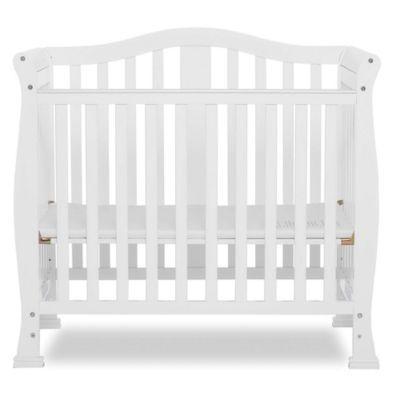 Dream On Me Naples 4 In 1 Convertible Mini Crib In White Mini Crib Cribs