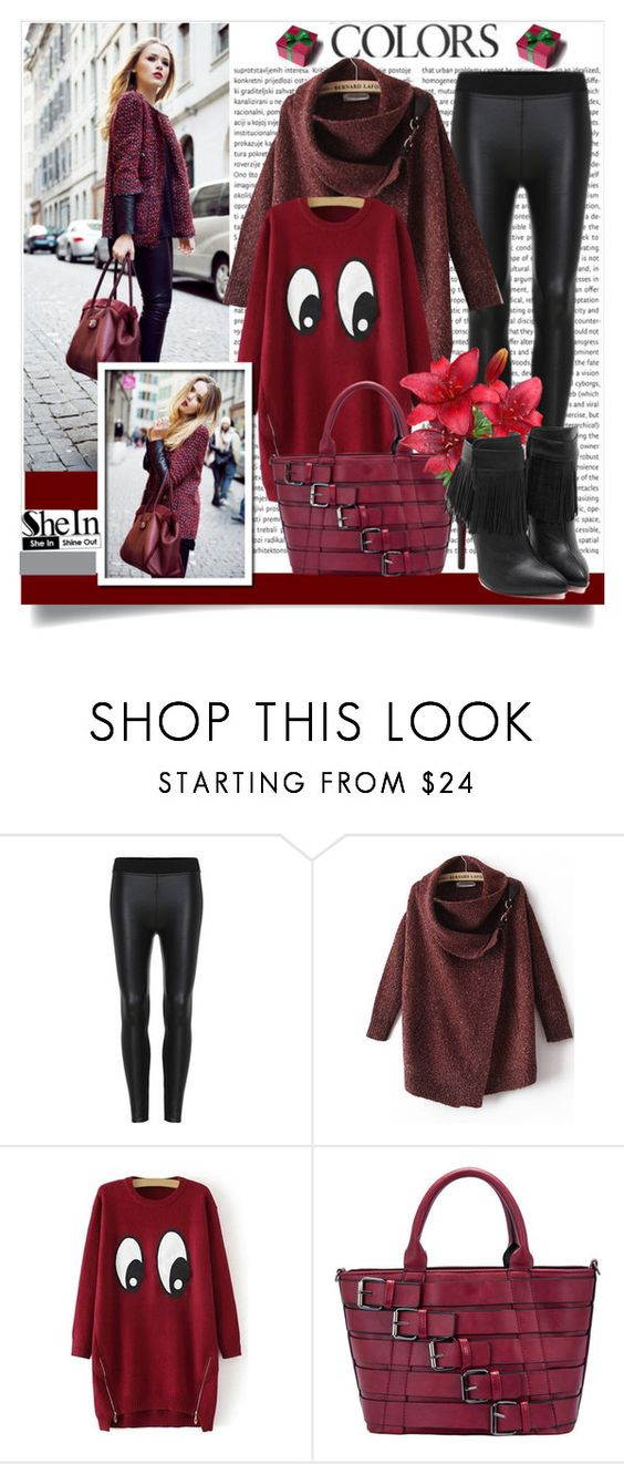 """Shein 6 (III)"" by aida-banjic ❤ liked on Polyvore featuring women's clothing, women, female, woman, misses, juniors and shein"