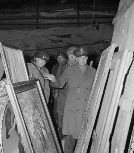 "The Monuments, Fine Arts, and Archives (MFAA) program, whose men and women were known as ""Monuments Men"", established by President Franklin D. Roosevelt in 1943 to help rescue art and cultural property from obliteration during World War II. The Monuments Men included servicemembers and art historians who aided in tracking down, identifying, and returning priceless […]:"