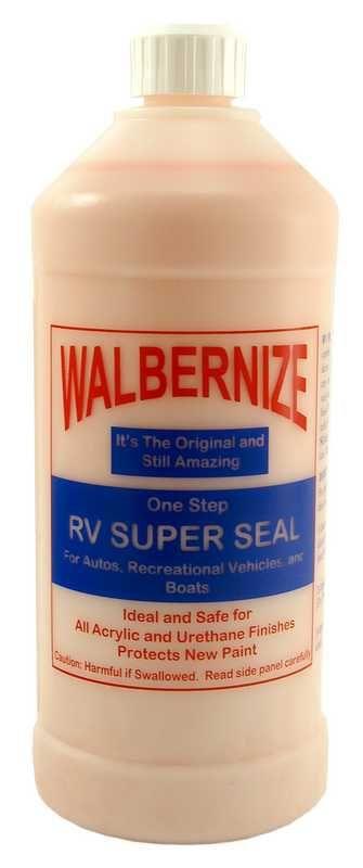 Carrand Rv Window Cleaner : Walbernize rv super seal is an original formula containing