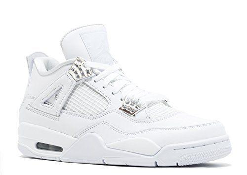 Jordan Men Air Jordan 4 Retro white