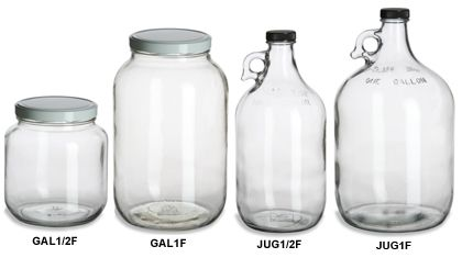 how to get 2 glass jugs apart