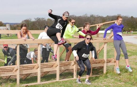 mud run obstacles - Bing Images