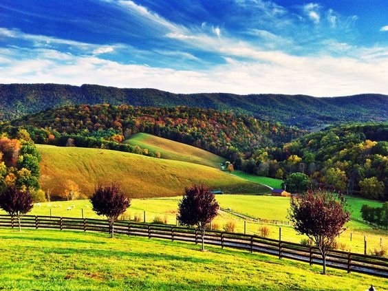 Images of north america landscapes virginia landscape Usa countryside pictures