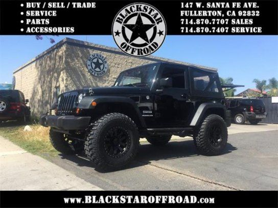 Sport Utility 2013 Jeep Wrangler Sport With 2 Door In Fullerton