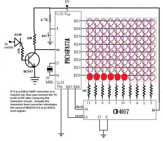 decoration led circuit diagram. Black Bedroom Furniture Sets. Home Design Ideas