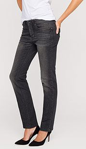 THE STRAIGHT in jeans-grau
