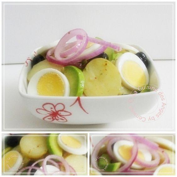 Salade de Pommes de Terre et d'Avocats | La Cuisine des Anges