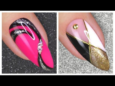 Nail Art Designs 2020 New Nails Art Nail Hacks Youtube In
