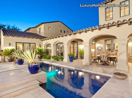 Luxury home magazine arizona luxury homes pools for Pool design magazine