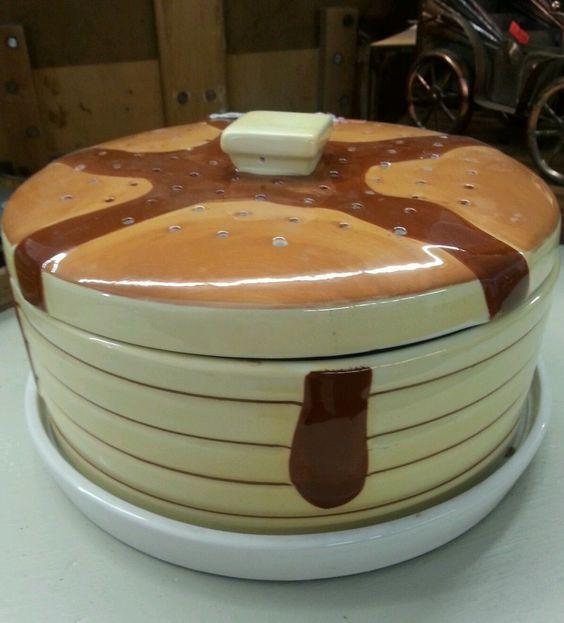 Vintage Ceramic Pancakes And Ceramics On Pinterest