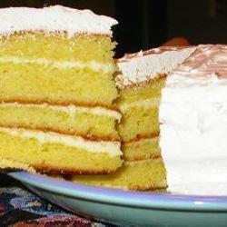 Gâteau frais étagé au citron @ qc.allrecipes.ca