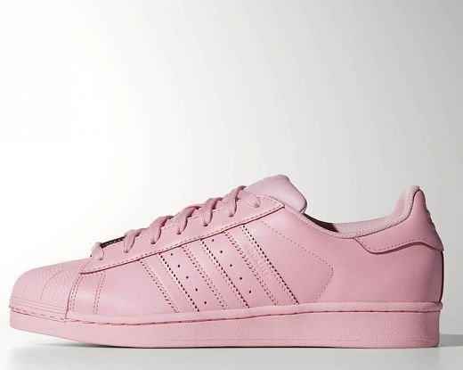 superstar adidas rosa chiaro