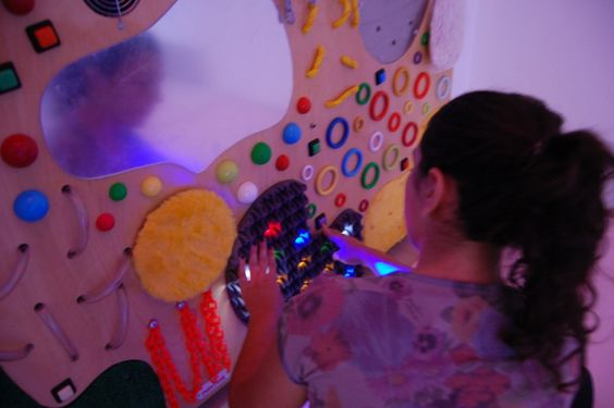 """Argentina: Sala de Estimulación Multisensorial """"Snoezelen"""" de la Fundación ConSentidos, en Mendoza (6: 800×532)"""