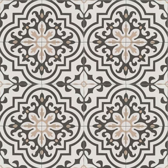 Bedrosians Tuscany Taupe Black White Decorative Ceramic Tile In 2020 White Ceramic Tiles Black And White Backsplash Ceramic Tiles