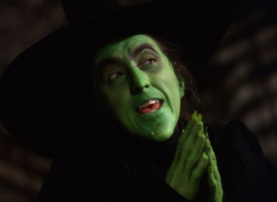 """*MARGARET HAMILTON ~ Margaret Hamilton (1902-1985) as The Wicked Witch of the West in """"The Wizard of Oz"""" (1939)"""