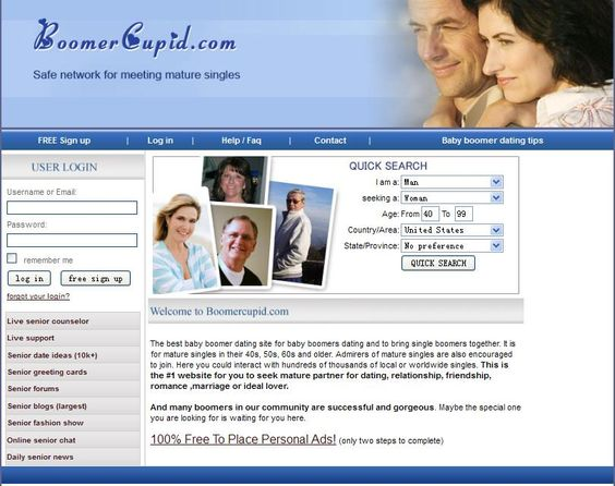capiata senior dating site Dating for seniors is now effortless thanks to our amazing senior dating site meet other senior singles and see how over 50 dating can be exciting, senior next.